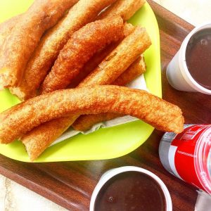 The best Churros Ive ever eaten! Churreria Marcos is ahellip