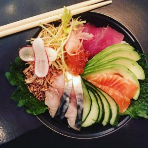 The sushi bowl grandpacificmcr is beautiful look at those colours!hellip
