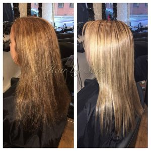 Look what hairbysam19 did! All the frizz removed from myhellip