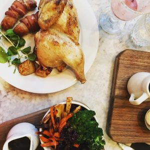 The ultimate Sunday roast drakeandmorgan Refinery is the one Pigshellip