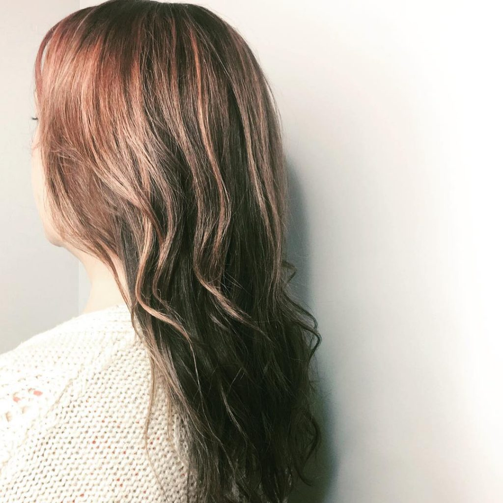 Rose gold hair. Thicker, glossier, healthier. Danielle @rcnq is the lady you need if you're after a fresh colour in Manchester. Absolutely amazing. #haircolour #hair #newhair #rosegoldhair #bbloggers #manchester #manchesterblogger