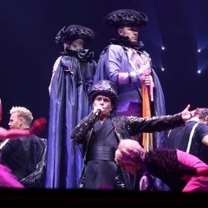 I love this picture of takethat from their Wonderland tourhellip