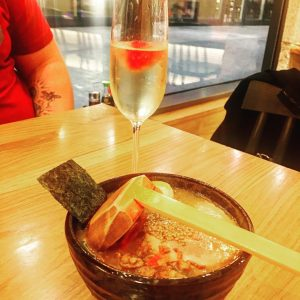 All the fizz and ramen shoryuramen Manchester for their bottomlesshellip