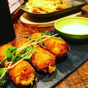 The croquettes exchangelounge last night were delicious and MASSIVE! manchesterbarshellip